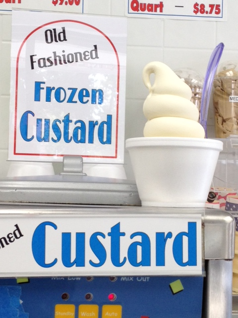 Old Fashioned Frozen Custard